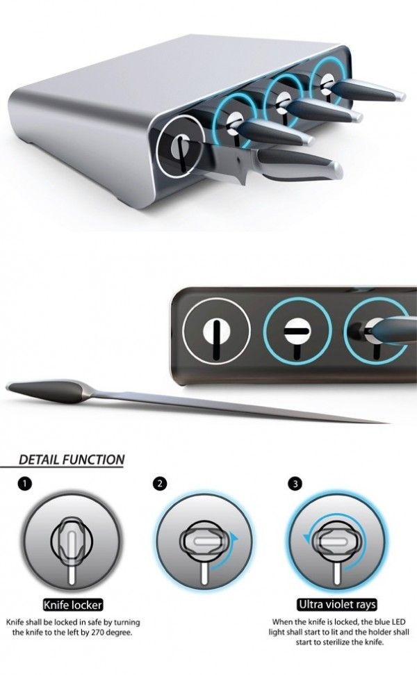 25+ Set of Extraordinary Knives | Architecture u0026 Design  sc 1 st  Pinterest & 25+ Set of Extraordinary Knives | Knives Storage ideas and Kitchens