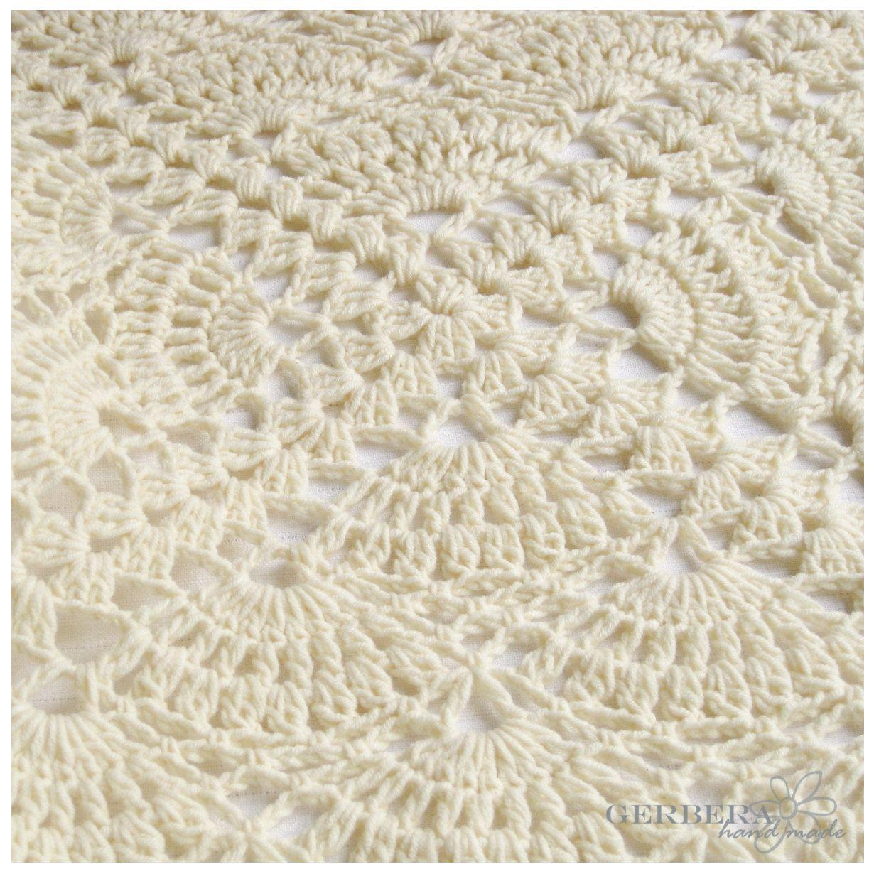 Crochet Pattern Baby Blanket, | crochet | Pinterest | Manta, Cobija ...