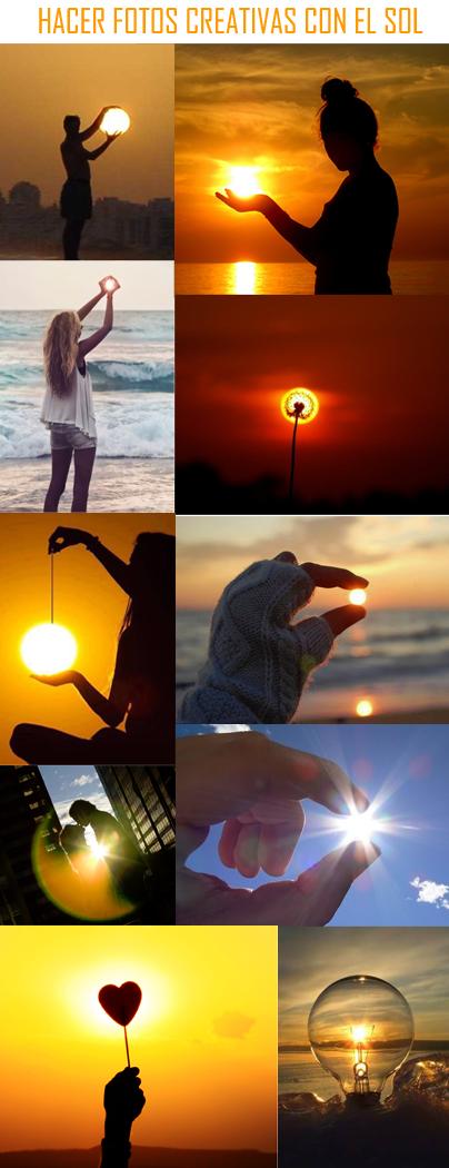Técnicas fotográficas creativas para hacer con el Sol