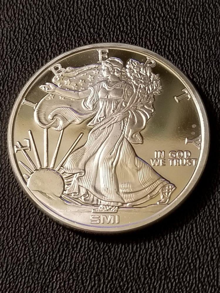 Sunshine Mint Walking Liberty Design 1 Oz 999 Fine Silver Bullion Coin Silver Bullion Silver Bullion Coins Fine Silver