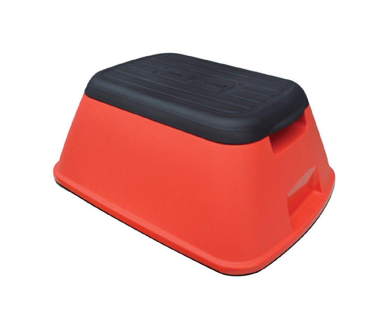 Terrific Safe T Stool Sts Red Rtl 5 Step Stool Red Plastic Inzonedesignstudio Interior Chair Design Inzonedesignstudiocom