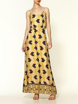 Sabine Boho Print Maxi Dress | Piperlime