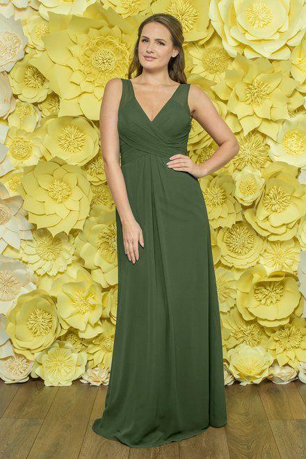 cc9fe2f3c14 Alexia Designs style 4278  Chiffon bridesmaid dress with flattering pleated  bodice
