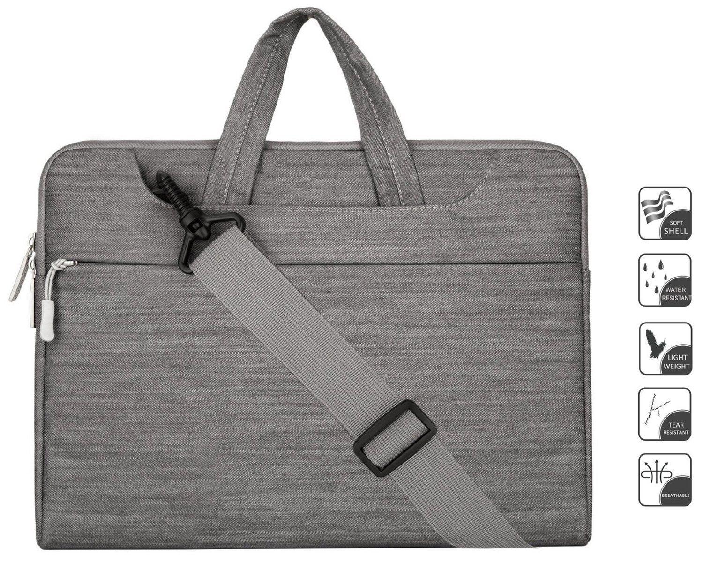 9ddce3f7a06c Amazon.com: Laptop Shoulder Bag / Briefcase, Mosiso Denim Fabric ...