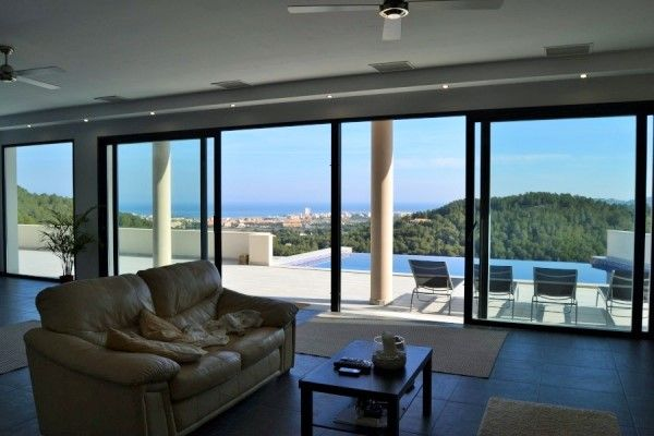 Fantastic Sea Views Newly Built 4 Bed Villa For Sale In Javea, Near To The Beach From Hola Properties