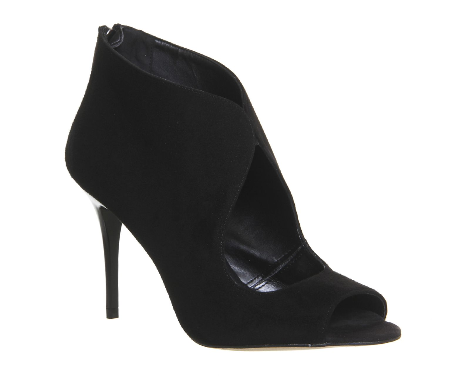 Buy Black Suede Office Quids In Cut Out Shoe Boots from OFFICE.co.uk