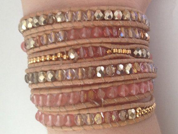 lovely!!  Nicest leather wrap bracelets I've seen.  Must buy