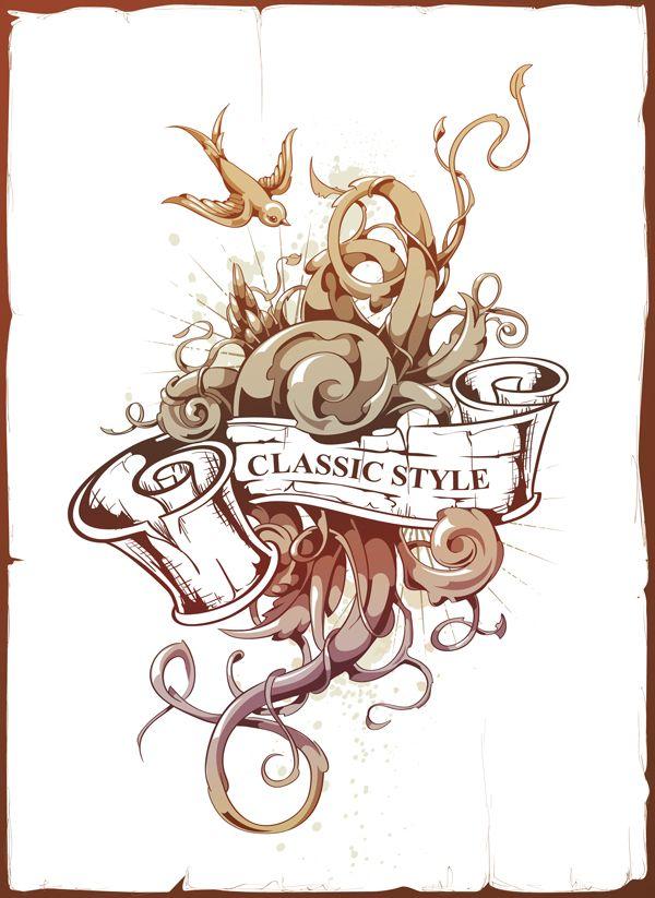 Vector Ink Anyone Create An Abstract Tattoo Design In Adobe Illustrator Tuts Design Illustrator Tutorials Abstract Tattoo Designs Vector Graphics Design