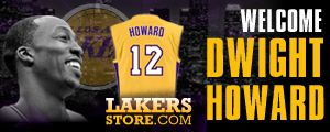 Lakersstore.com Dwight Howard Merchandise