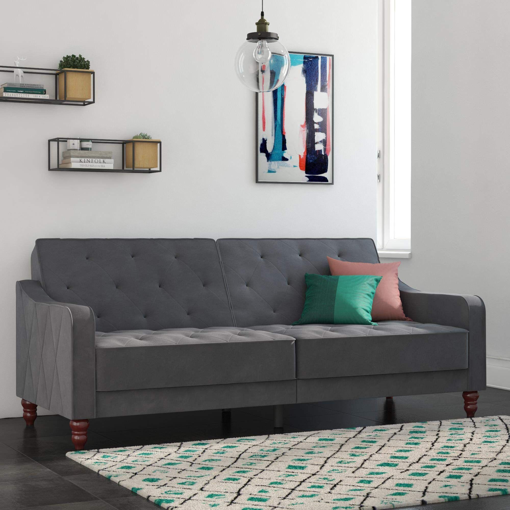 Stylish and Comfortable Sofa with Elegant Vintage Design ...