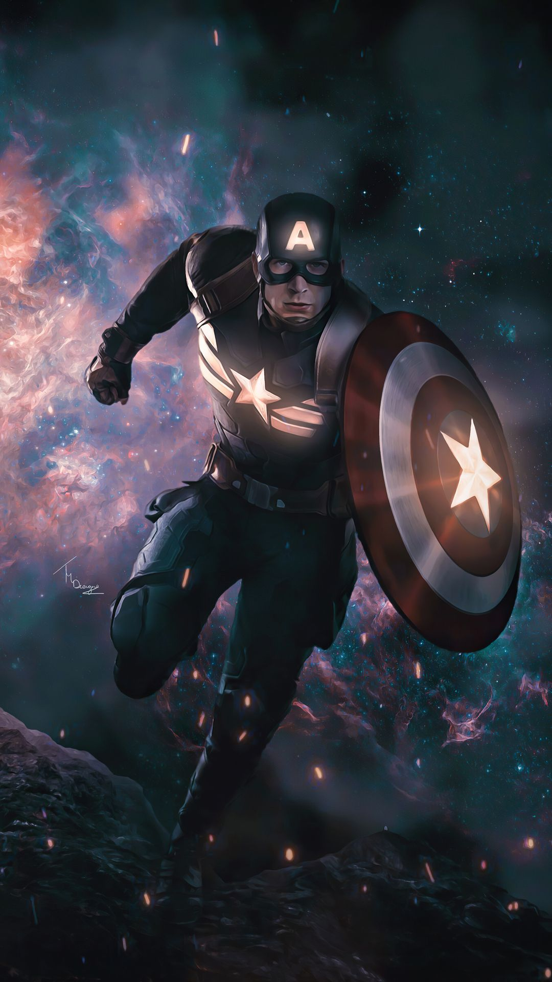2020 Captain America 4k Artwork In 1080x1920 Resolution Captain America Artwork Captain America Wallpaper Captain America Images