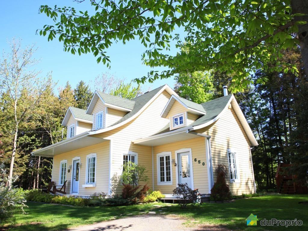 Maison à vendre lépiphanie 650 rue martin immobilier québec duproprio 612538