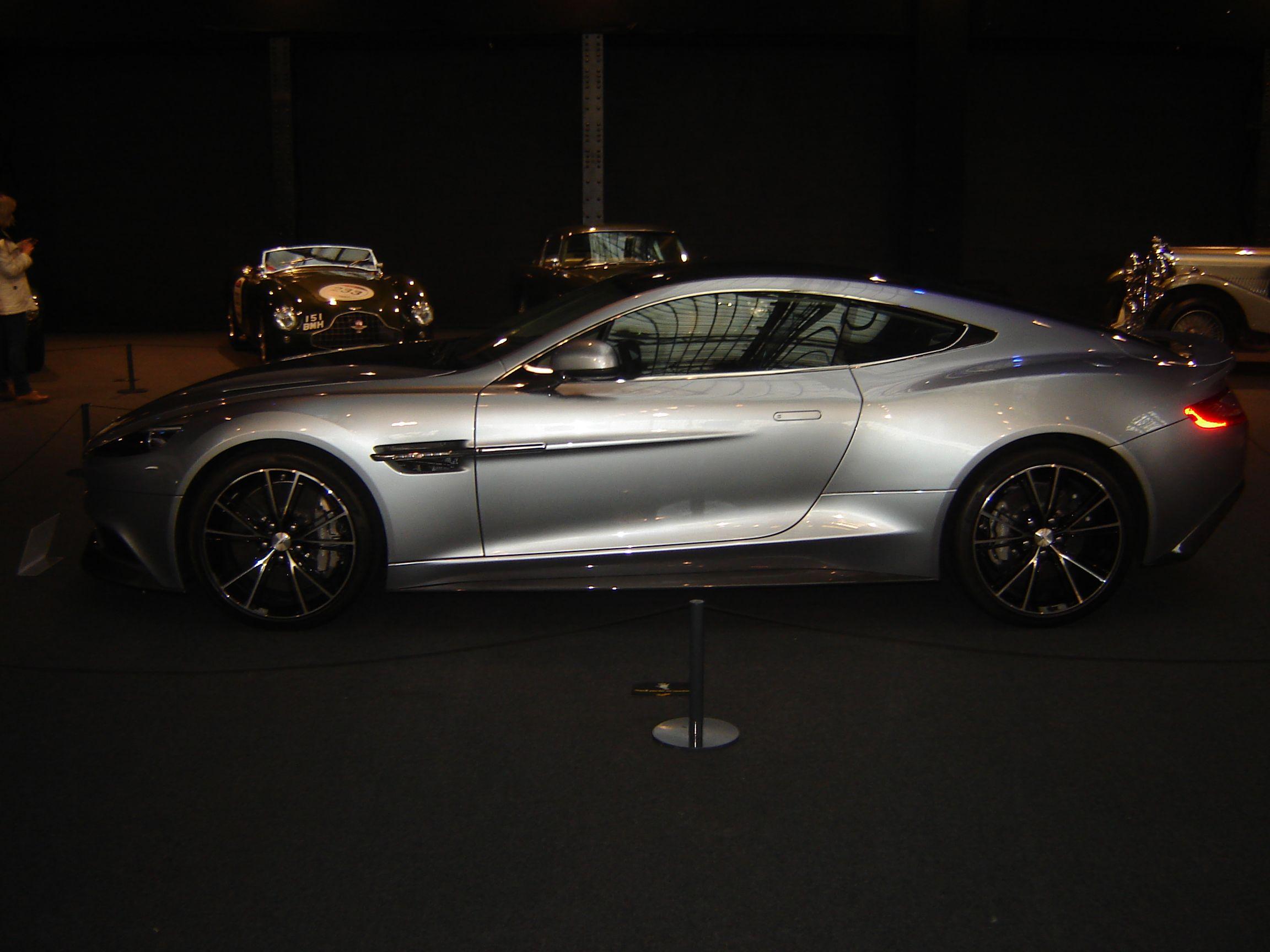 Bradleyu0027s Aston Martin Vanquish. Color: Skyfall