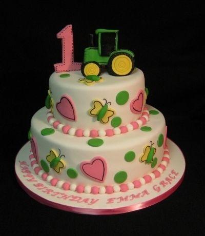 John Deere Birthday By ssunshine564 on CakeCentralcom brilynn