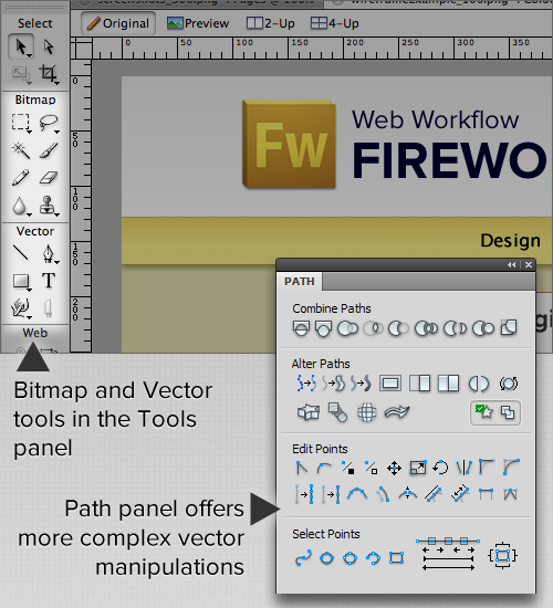 Developing A Design Workflow In Adobe Fireworks | Adobe Fireworks
