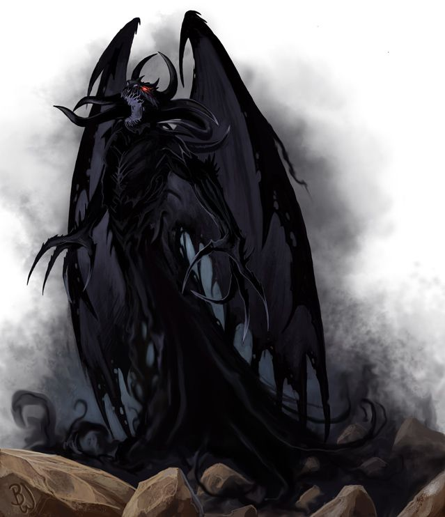 Shadow demon | deviantART, Monsters and Fantasy creatures