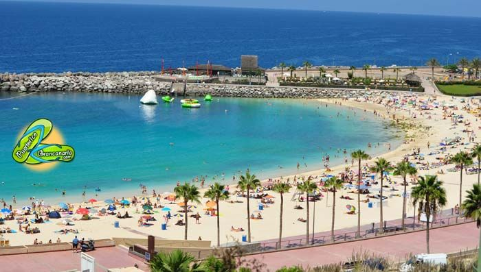 Amadores Beach Puerto Rico Gran Canaria Gran Canaria Puerto Rico