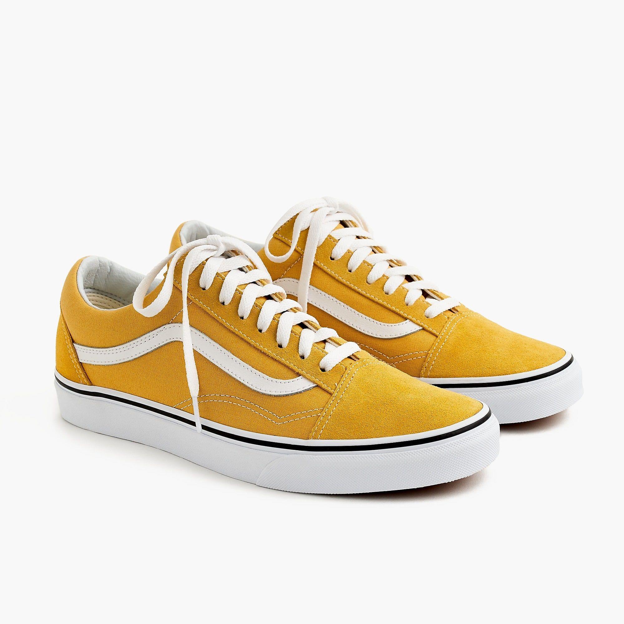 baskets femme vans jaune