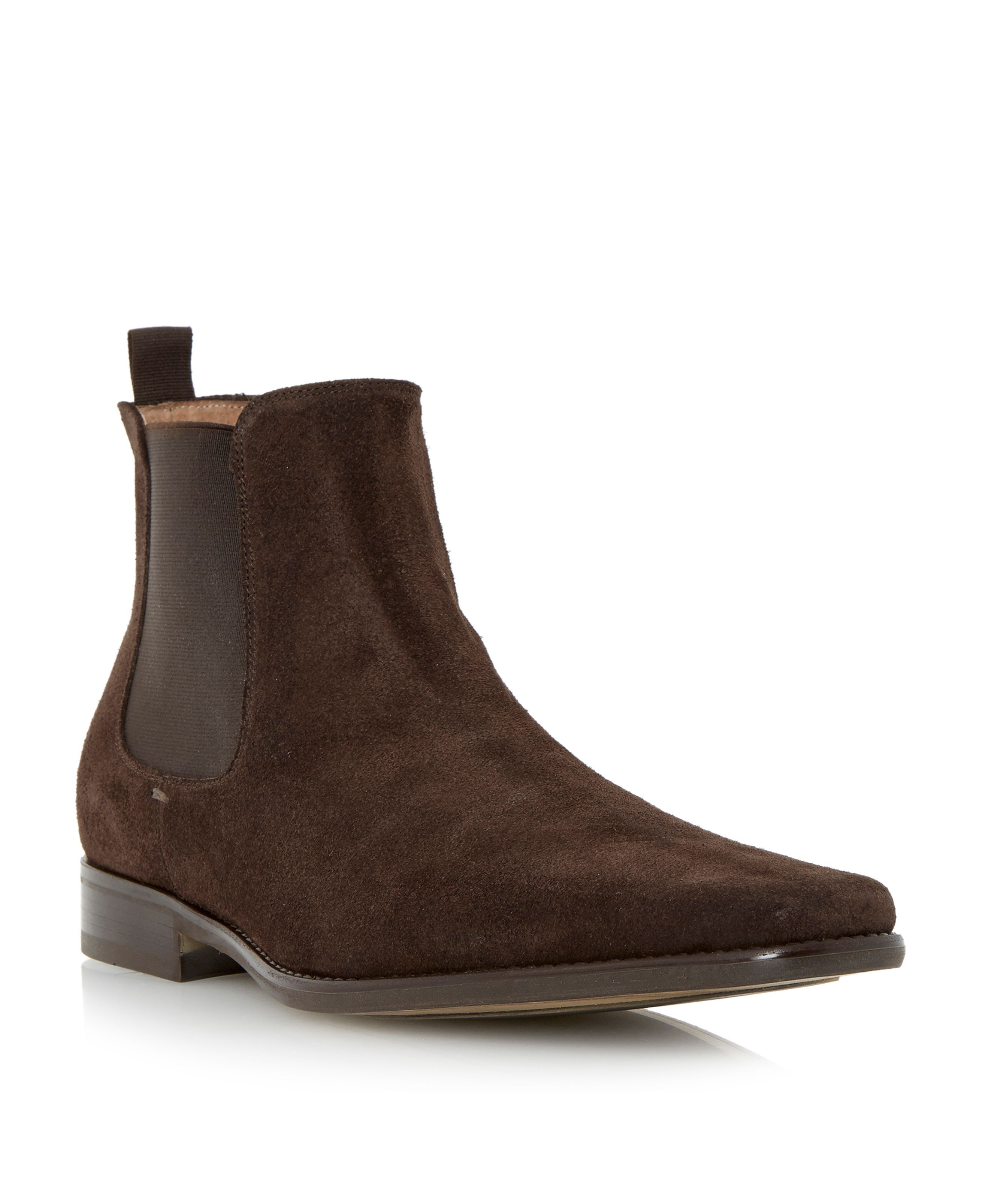 a5aa906f79d Roland Cartier Clarky Suede Chelsea Boots, Brown   well 1