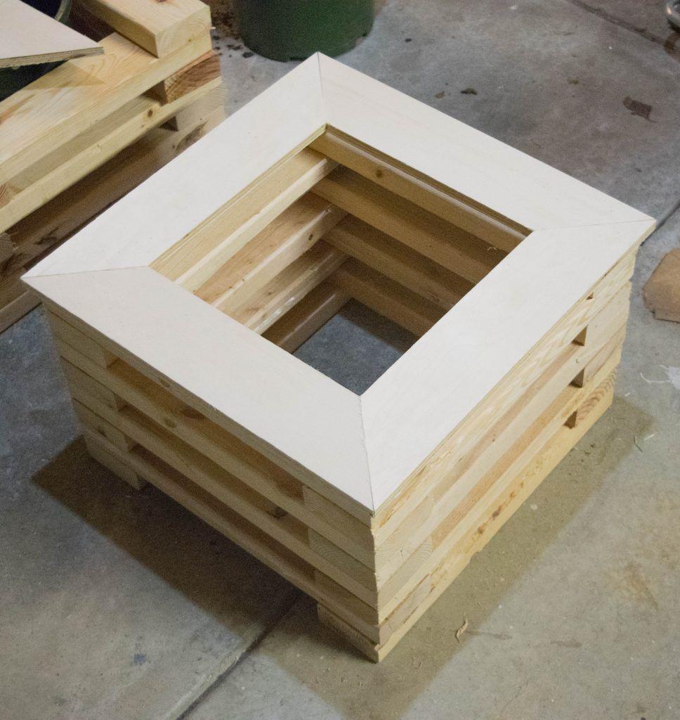 Adding Border Trim To 2X4 Planter Wood 400 x 300