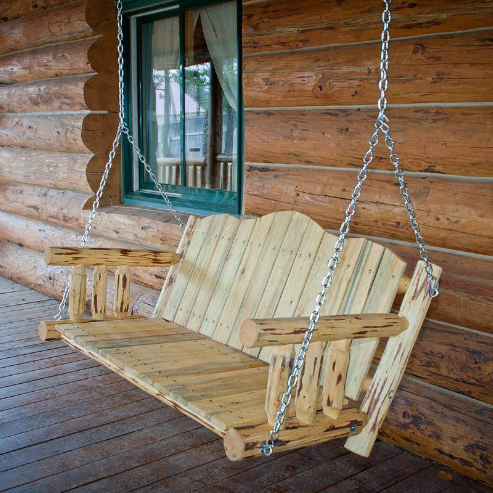 Montana Woodworks 4 Ft. Porch Swing With Chains