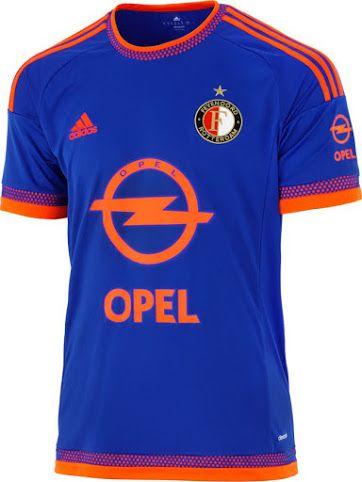 Feyenoord 15 16 Away Kit Released Soccer Jersey Sports Shirts Football Jersey Shirt