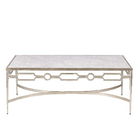 Best A Touch Of Bling Silver Leaf And Marble Coffee Table 400 x 300