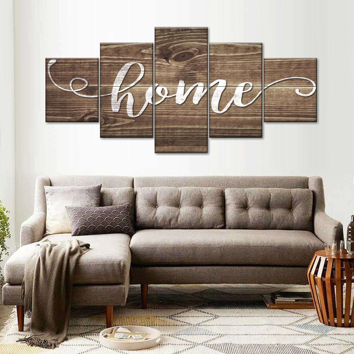 Home Multi Panel Canvas Wall Art In 2021 Family Room Wall Decor Big Wall Decor Dining Room Wall Decor