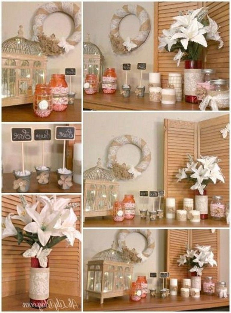 40 Unique Homemade Crafts For Your House Decorations Ideas Easy