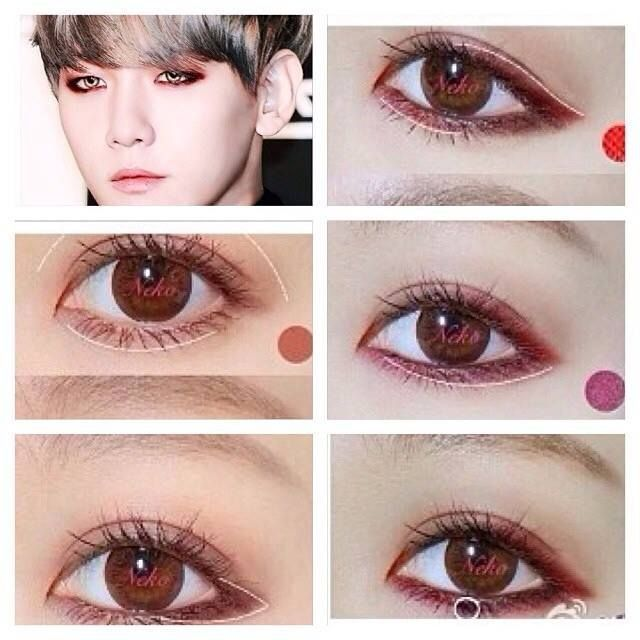 Kpop Idol Makeup Tip Korean Eye Makeup Kpop Makeup Tutorial Asian Eye Makeup
