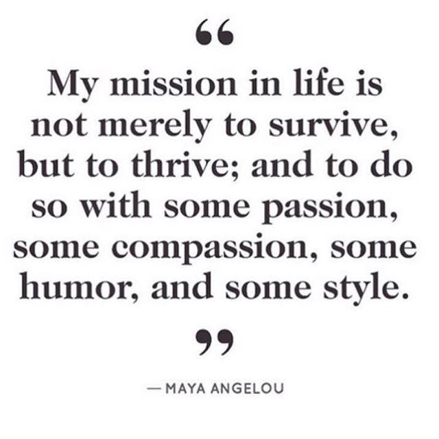 #MondayMotivation via Maya Angelou #quote #style #motivation