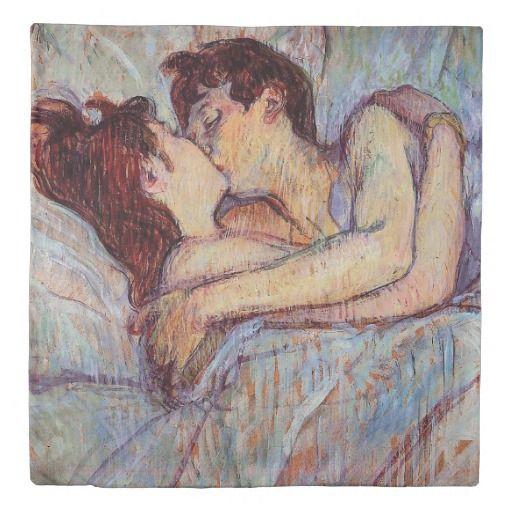 Toulouse Lautrec In Bed The Kiss Lesbian Lovers Duvet Cover Zazzle Com Romantic Paintings Toulouse Lautrec Paintings Henri De Toulouse Lautrec