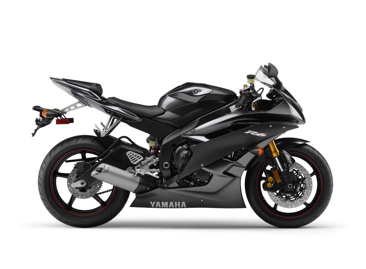 Yamaha yzf r6 2007 midnight black