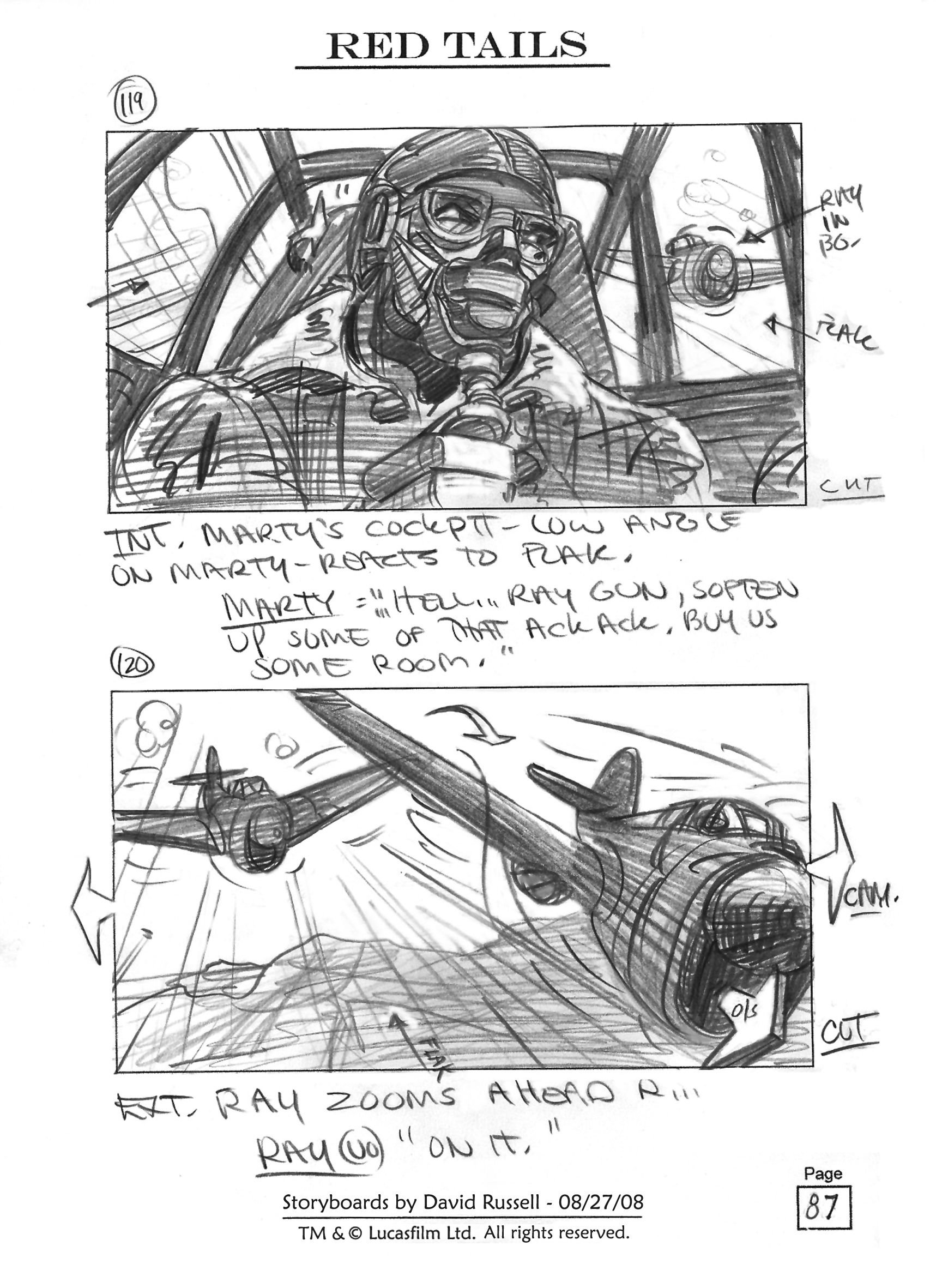red tails storyboard - Google Search | Storyboard | Pinterest