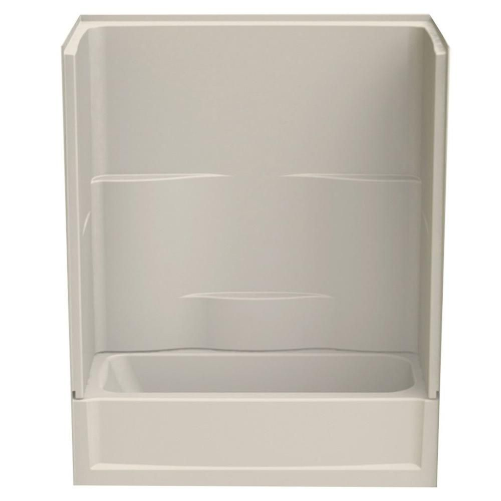 Aquatic Varia 60 In X 30 In X 72 In 2 Piece Bath And Shower Kit