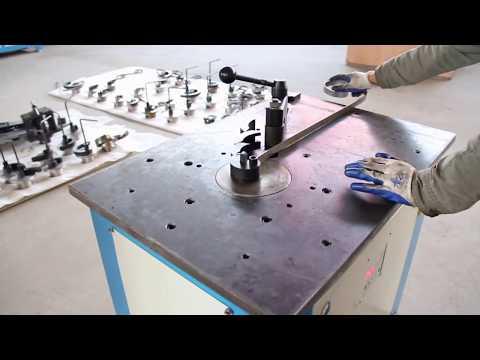 Dh Dw16e Electric Wrought Iron Scroll Bending Machine Steel Scroll Making Machine Youtube Making Machine Wrought Iron Wrought