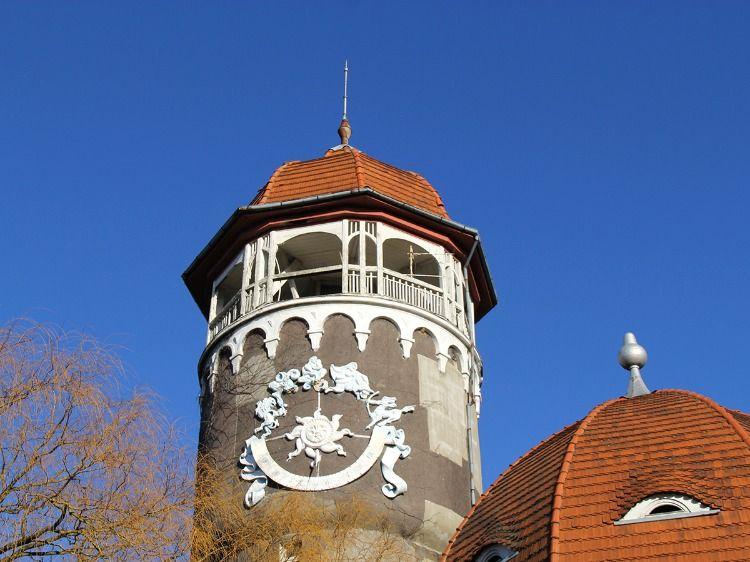 Знаменитая башня водолечебницы