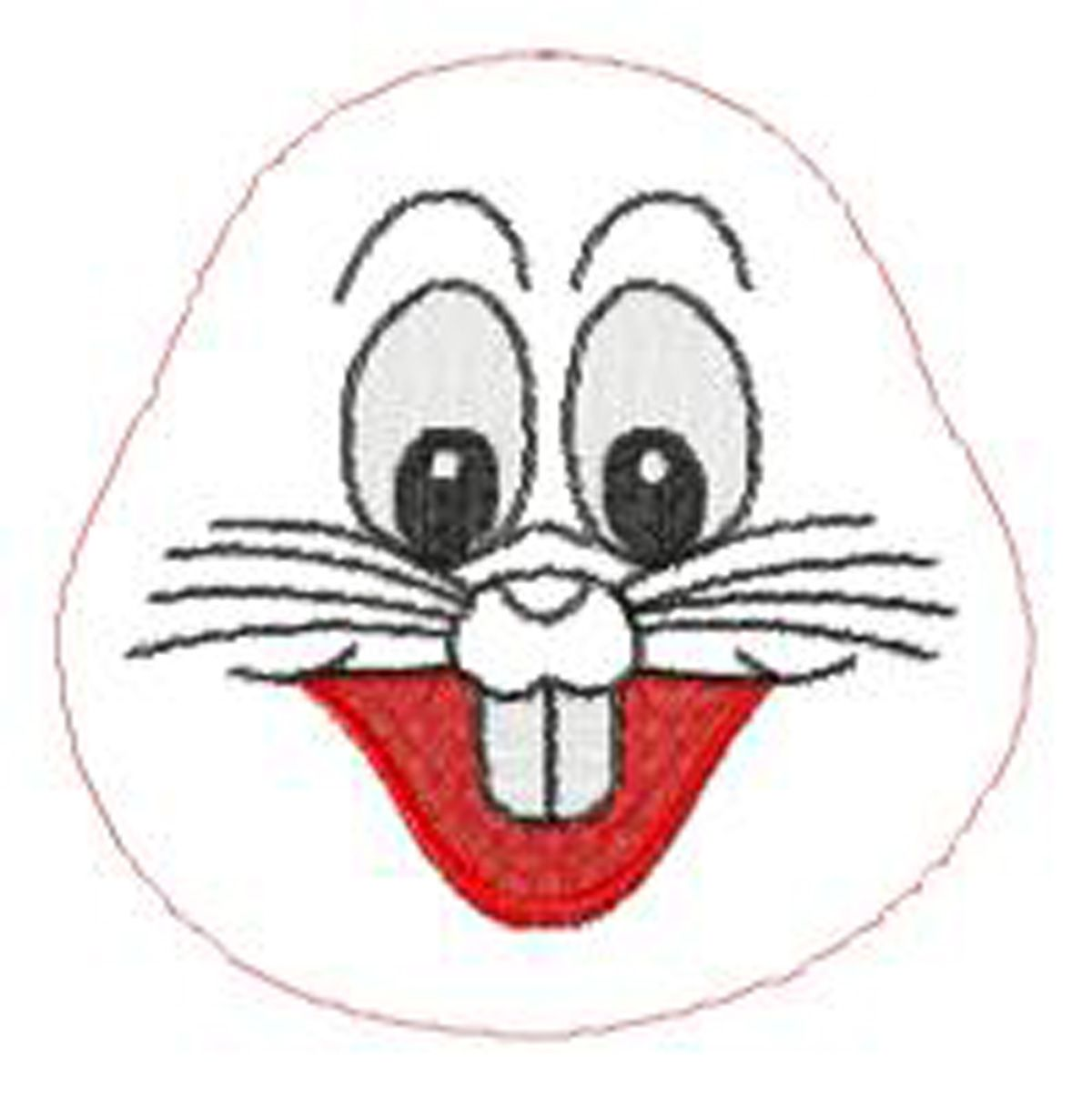 Bunny Face Template Bobby Bunny Project A Happy Bunny Face For 5