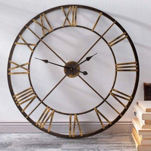 vintage wanduhr, wanduhr metall, wanduhr gross, design wanduhr | Uhr ...