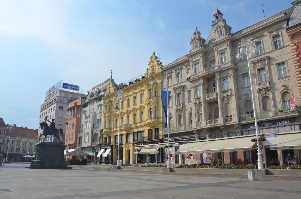 Zagreb 2015 Panoramio 5 Zagreb Wikipedia Zagreb Architecture Street View