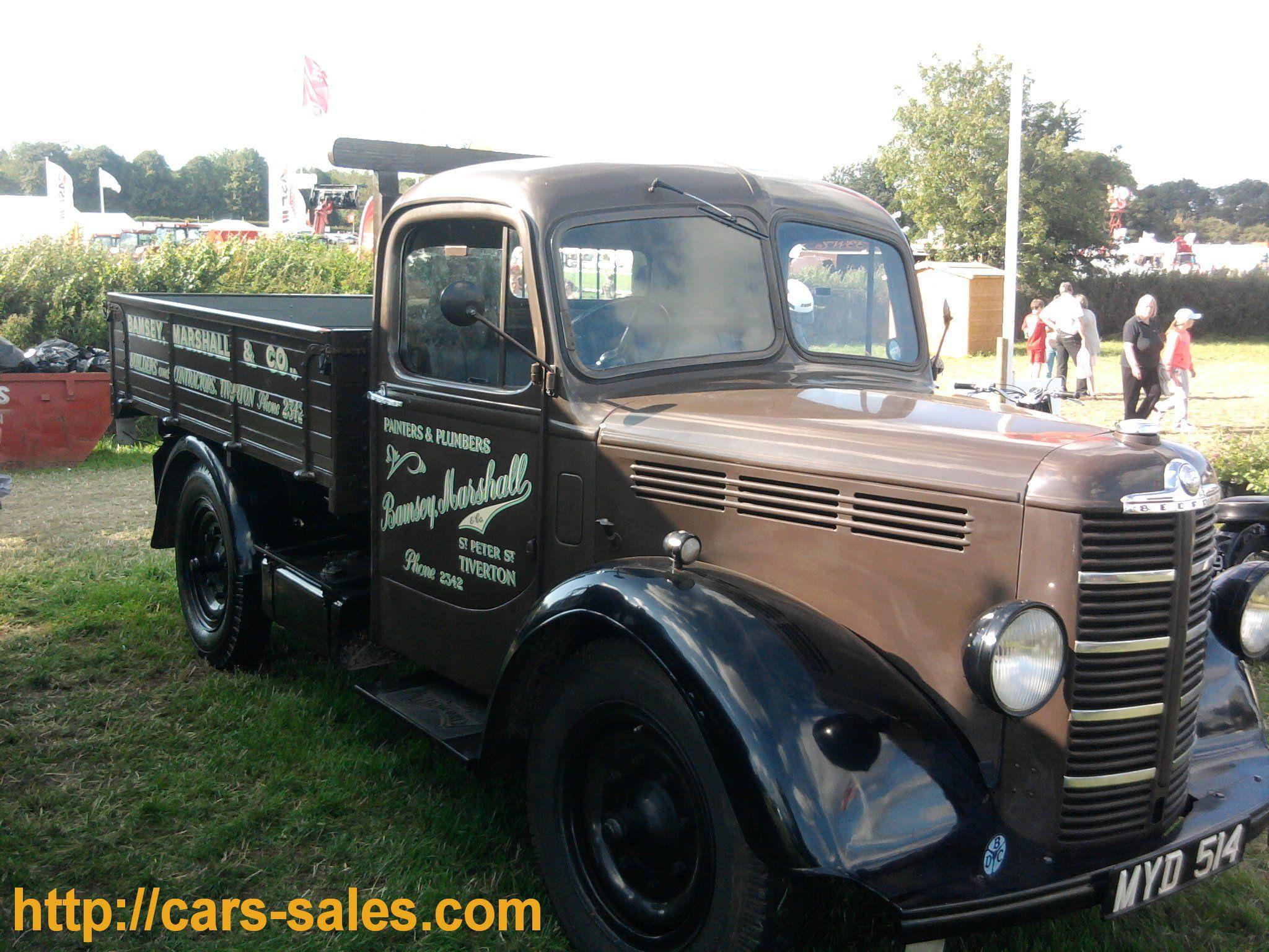 vintage delivery vans for sale | Devon Show – Classic and vintage ...