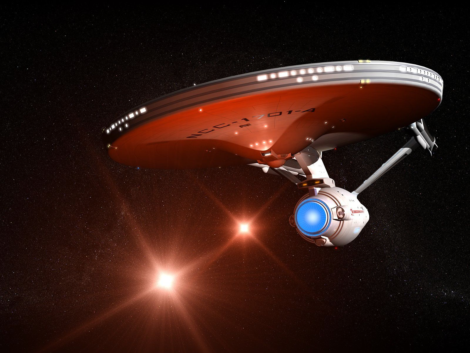 Starship Uss Enterprise 1701a Free Computer Desktop Wallpaper