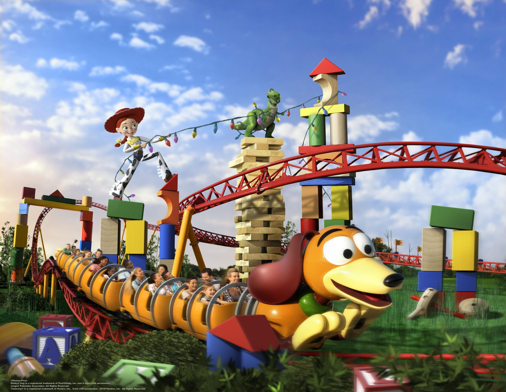 Everything We Know So Far About Slinky Dog Dash In Toy Story Land