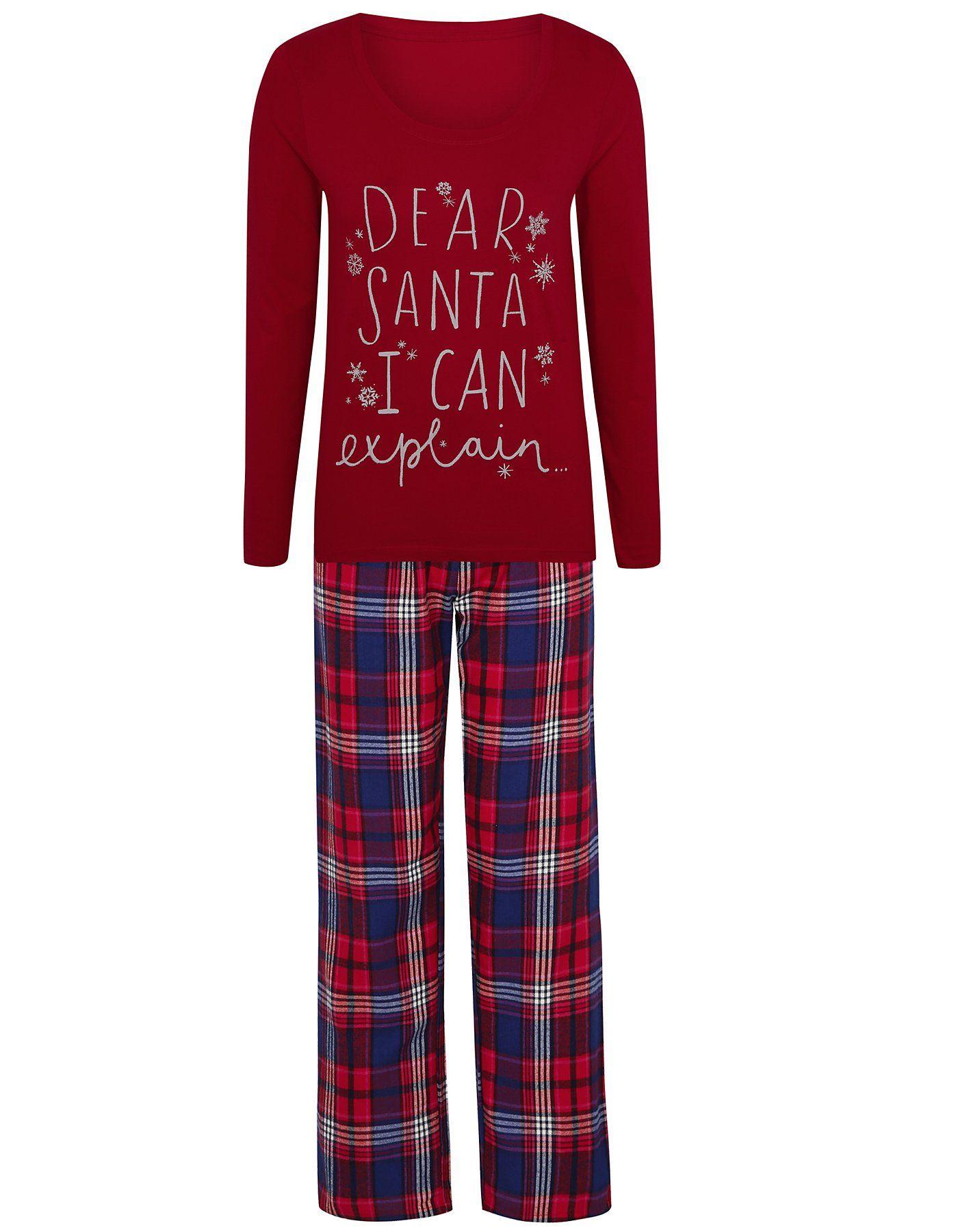 Christmas Pyjama Set Women at ASDA Pyjamas