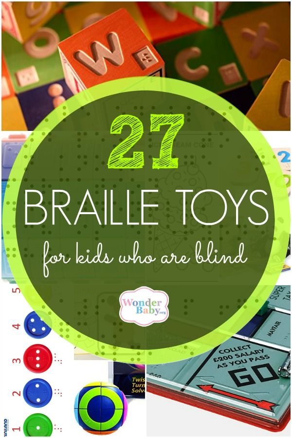 25 Braille Toys For Kids Who Are Blind Awesome Toys For