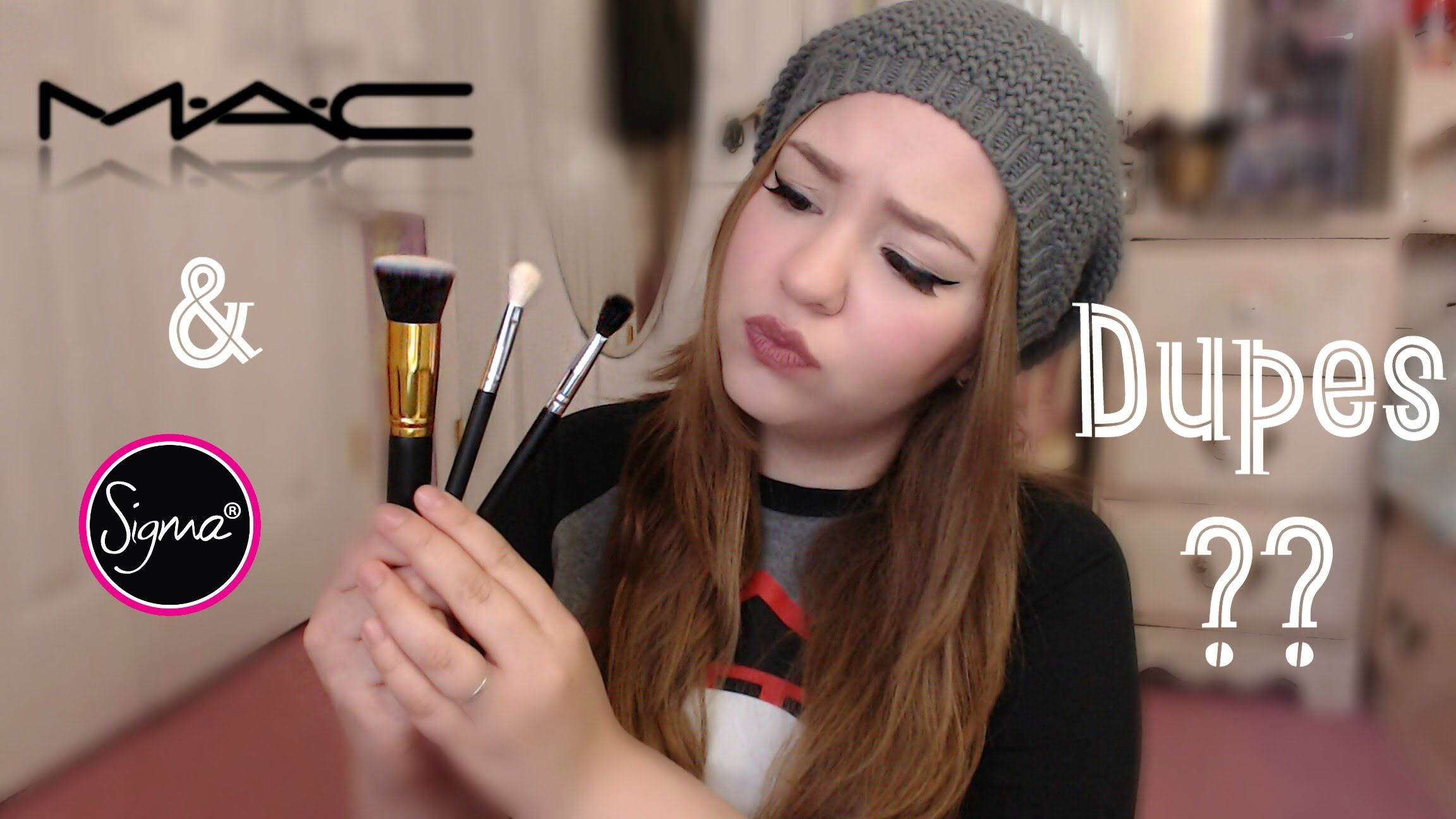 MAC & Sigma Dupe Brushes from Ebay Review YouTube