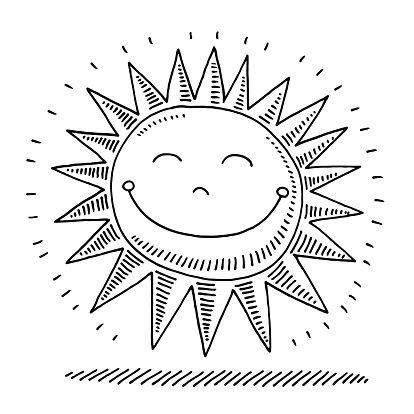 Happy Sunshine Drawing