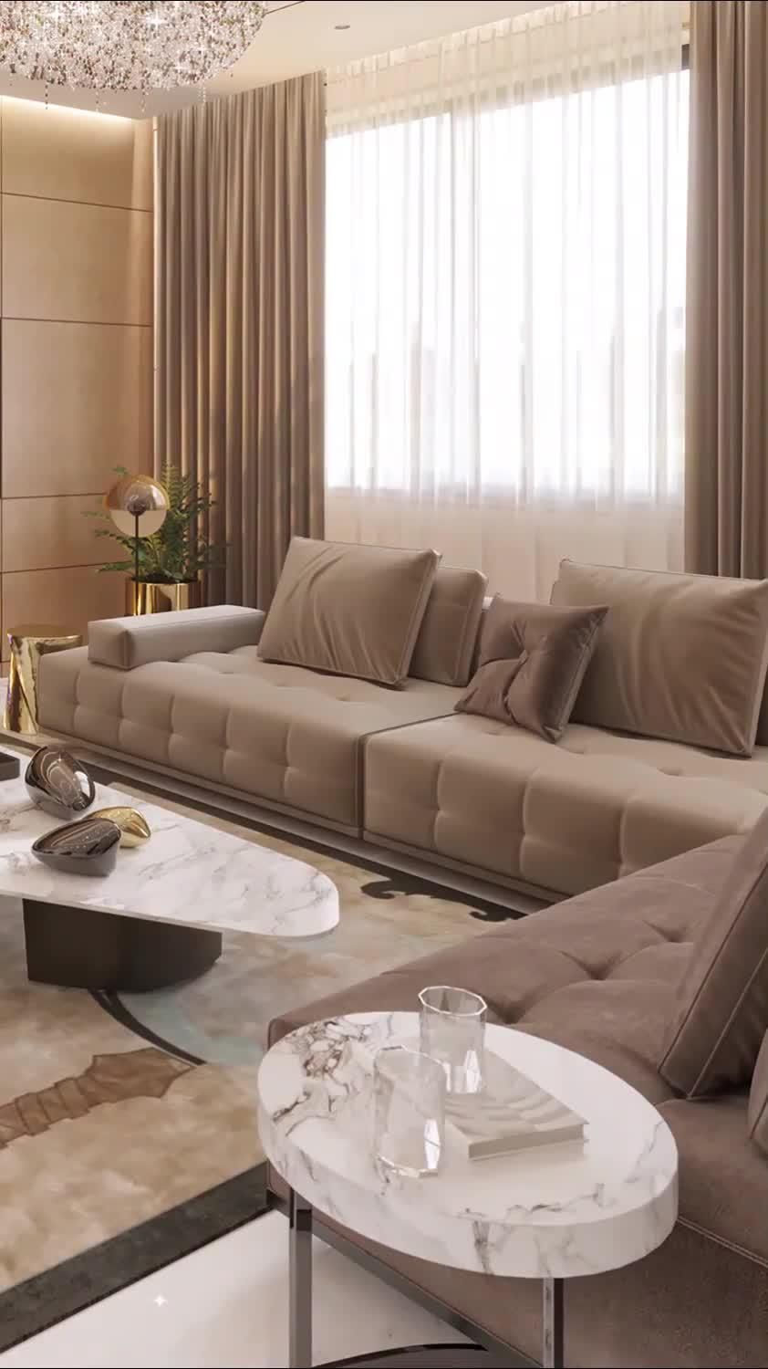 Luxury modern home living room interior décor for your dream house