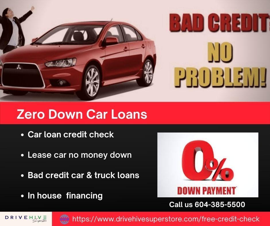 Zero Down Car Loans Near Me in Vancouver DriveHive