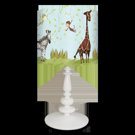Jungle Fun Nursery Table Lamp Or Lamp Shades By Meghann O Hara For Oopsy Daisy Fine Art For Kids 138 Childrens Table Lamps Kids Table Lamp Lamp